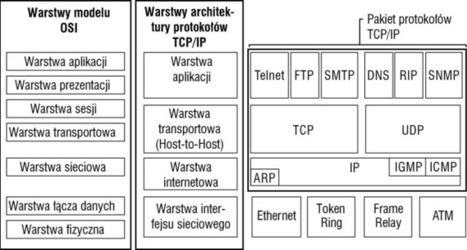 Model ISO/OSI i TCP/IP - SYSTEMY OPERACYJNE I SIECI KOMPUTEROWE | Model ISO OSI | Scoop.it