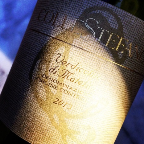 Colle Stefano Verdicchio di Matelica 2013 Reviewed on Delectable | Wines and People | Scoop.it
