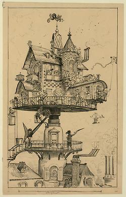 """""""Maison tournante aérienne"""" (aerial rotating...   le cottage landais: en osmose avec la nature   Scoop.it"""