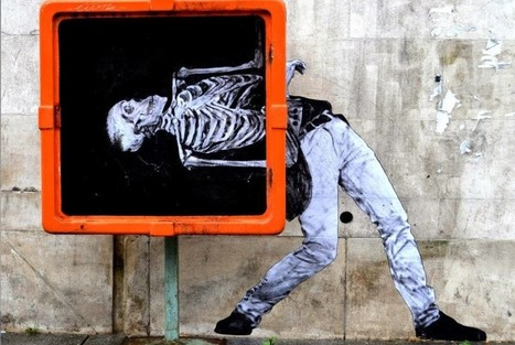 Teacher Repurposes Everyday Objects into Playful Street Art | Inspired By Design | Scoop.it