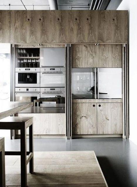 Une cuisine intégrée, c'est tellement chic ! | décoration & déco | Scoop.it