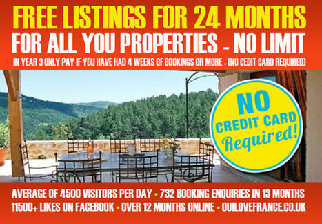 FREE to Advertise | Holiday Lettings France | Lets | Rentals | Self Caterng | Regions of France | Scoop.it