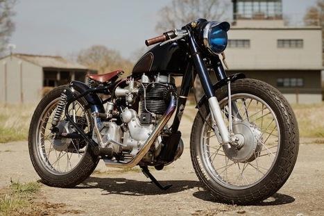 "Bullet 500 ""Fox"" by Old Empire Motorcycles | Random | Scoop.it"
