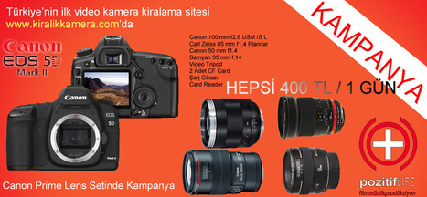 Canon 5D Mark 2 Prime Lens Seti | Kiralık Kamera, Rental Camera House, In Turkey | Scoop.it