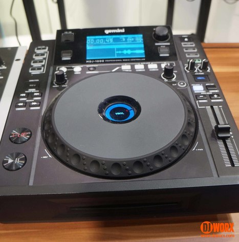 NAMM 2015: Gemini MDJ-1000 media player | DJWORX | DJing | Scoop.it