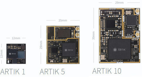 Samsung Artik is a Family of Arduino Compatible Boards for IoT Applications | Embedded Systems News | Scoop.it