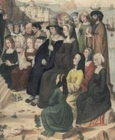 Le costume féminin au Moyen Age : lexique | Monde médiéval | Scoop.it