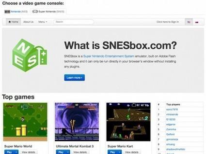 SNESbox, un émulateur de Super Nintendo gratuit et en ligne   Les outils d'HG Sempai   Scoop.it