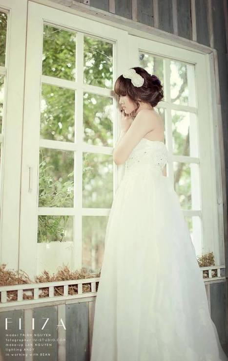 Kiều Trinh hóa thiên thần trong bộ váy cưới | Ảnh hot girl cute, girl xinh gợi cảm | Scoop.it