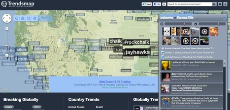 Real-time local Twitter trends - Trendsmap | social media and digital marketing | Scoop.it