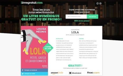 1livregratuit.com : chaque jour, un ebook gratuit dans votre boîte mail | L'E-book et le numérique en bibliothèque | Scoop.it