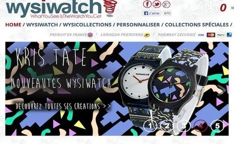 La startup du jour : Wysiwatch, créateur de montres personalisables ... - Frenchweb.fr | Entreprendre - startups | Scoop.it