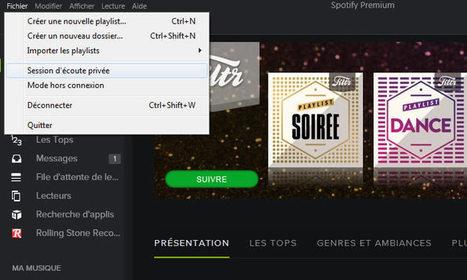 10 astuces méconnues qui vont changer votre utilisation de Spotify | Presse-Citron | UseNum - Ressources pédagogiques | Scoop.it