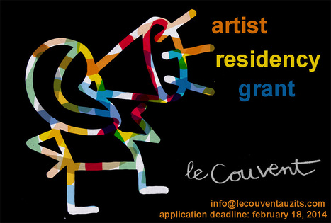 Le CouveNt - 2014 Grant Program | Artist residency | Scoop.it