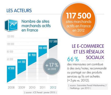 Chiffres clés du e-commerce 2013 | Geckode: Développement Web et mobile | Scoop.it