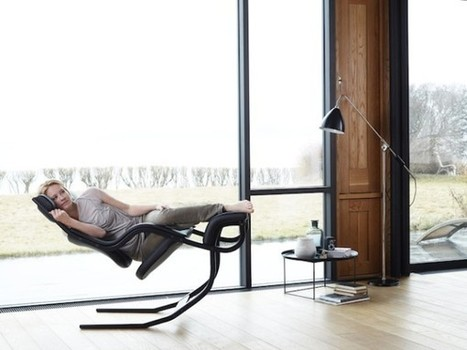 Gravity Balans Chair For Varier Furniture | Bookmarc – News and products in architecture and design | Interioraholic | Scoop.it