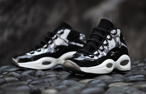 "BAIT collaborates with Reebok to release ""Snakeskin"" Question Mid 
