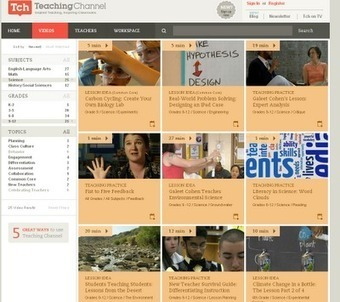 The Teaching Channel - video lessons and resources for educators | Educational Technology Today | Scoop.it