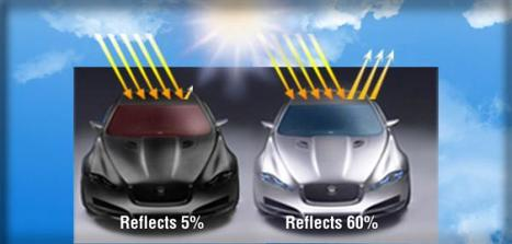 Solar Reflective Paints Can Make Your Car Cooler, Cleaner | Sustainable Futures | Scoop.it