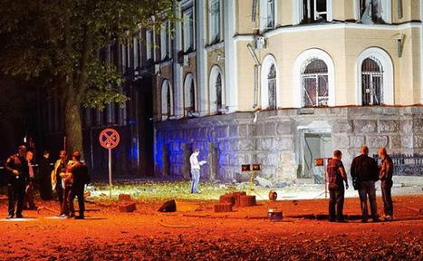SBU HQ Bombed - Odessa Partisans in Action | Global politics | Scoop.it