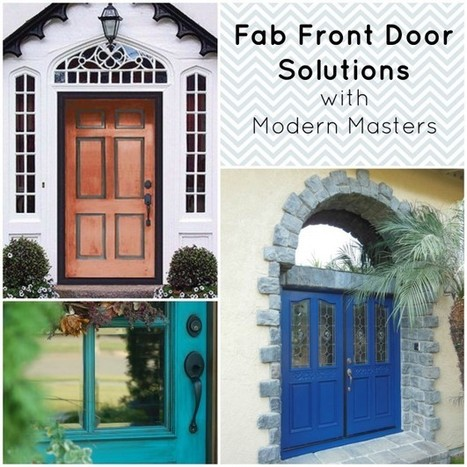 What's Haute for Front Doors! | Modern Masters Cafe Blog | doors | Scoop.it