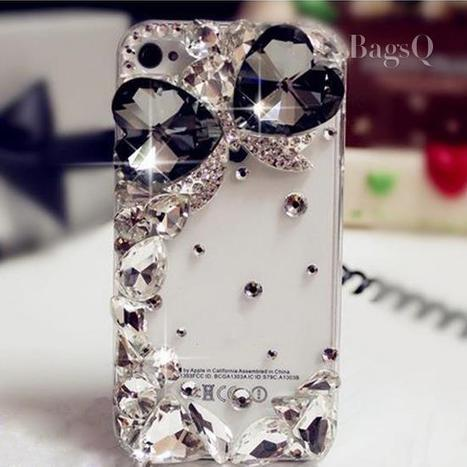 $ 28.09 Shining Rhinestone Case for iPhone4/4S&iPhone5/5S | fashion | Scoop.it