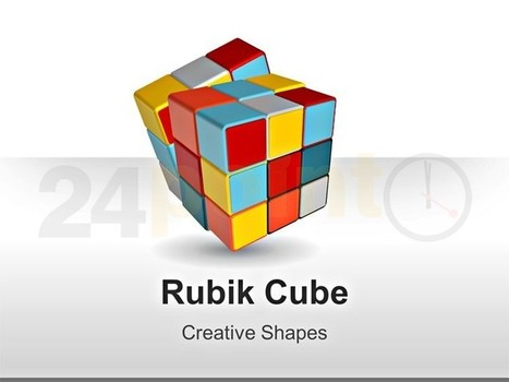 Rubik's Cube Shapes - Editable PowerPoint Slides | PowerPoint Presentation Tools and Resources | Scoop.it