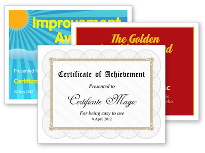 Certificate Magic - Free certificate generator | Internet Resources for Paper-based EFL | Scoop.it