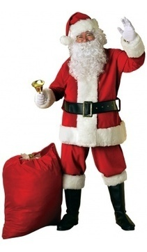 Trouver le bon déguisement de Père Noel | Blog RueDeLaFete | deguisement pere noel | Scoop.it