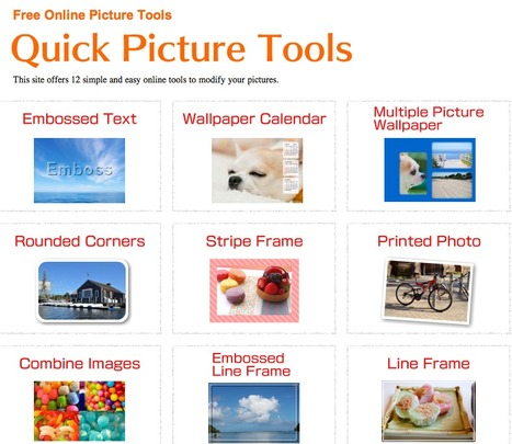 Quick Picture Tools | Web 2.0 Tools in the EFL Classroom | Scoop.it