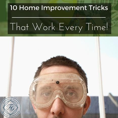 10 Home Improvement Tricks That Work Every Time! - Flemington Granite | Home Improvement, Modular Construction, Modular Buildings, Prefabricated Building | Scoop.it