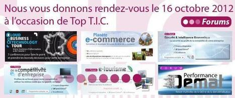 Nous vous donnons RDV au Top Tic et Planete E Commerce à Marseille Mardi 16 octobre | Mon E-commerce | Scoop.it
