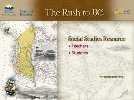 The Rush to BC | Elementary Socials Resources | Scoop.it
