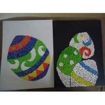 My Easter Egg Mosaic | Amazing DIY craft ideas | Scoop.it