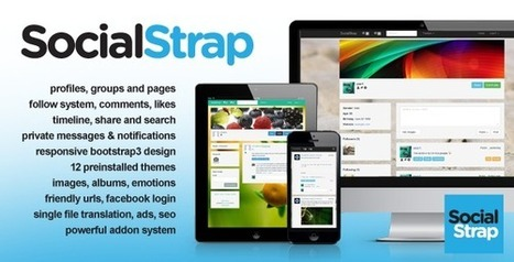 SocialStrap – Social Networking Platform (Social Networking) | PHP Scripts Download | Scoop.it