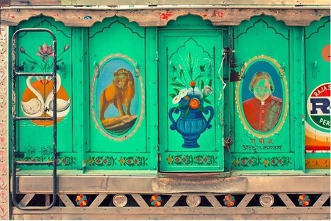 Honk if you Love the Subculture of Indian Trucker Art | Travel India | Scoop.it