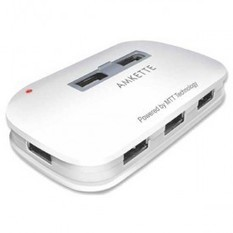 Buy Amkette Turbo 7 Port USB Hub & Charger India Online- Find Price and Reviews for Amkette Turbo 7 Port USB Hub & Charger �timtara | Bunty Business & News | Scoop.it