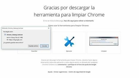 Con su Limpiador de Chrome, Google quiere ayudarnos a tener un navegador limpio y ligero | EcoLegendo | Scoop.it
