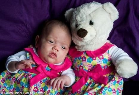 Premature Baby is So Small She Dresses in Teddy Bear Clothes to Avoid ... - LifeNews.com | Fashion | Scoop.it
