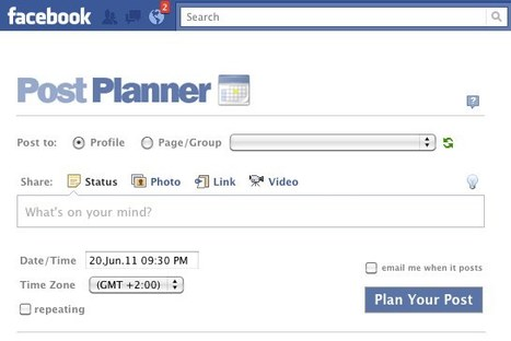 "PostPlanner, une application pour les community managers | Locita | Facebook for ""Pro"" 
