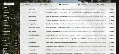 Impact of Gmail Tabs on Nonprofits' Email Marketing - Media Cause   Google+ for your business   Scoop.it