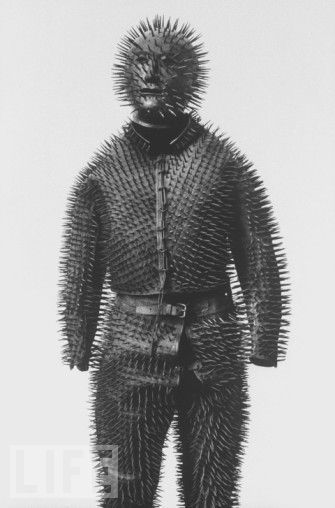 Siberian Bear-hunting armour, c.1800s | All Geeks | Scoop.it