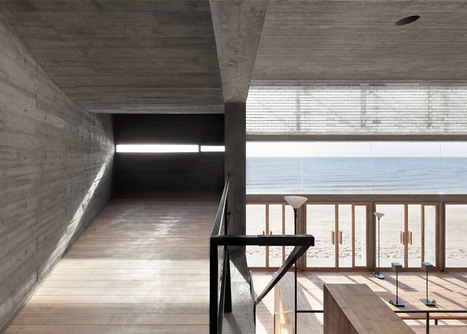 Vector Architects completes a concrete seaside library | innovative libraries | Scoop.it