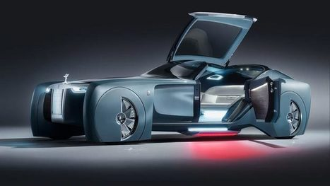 Rolls-Royce 103EX - representation of the legendary automaker about cars of the future - Your News Ticker | technologynews | Scoop.it