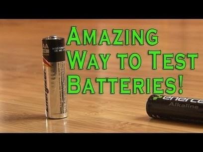 Cómo saber rapidamente si una batería o pila ya no tiene carga   tecno4   Scoop.it