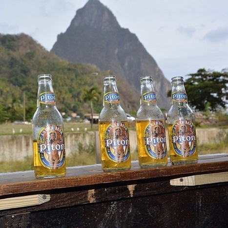 Saint Lucia's Pitons: See The Mountains, Drink The Beer | Saint Lucia Tourism | Scoop.it