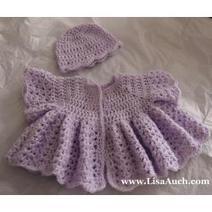 Easy Baby Cardigan Free Crochet Patterns | Baby Crochet | Scoop.it