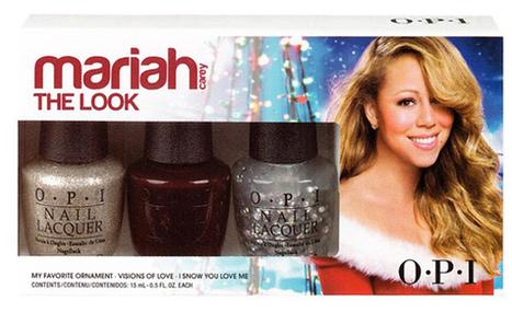 O.P.I persiste et signe avec Mariah Carey | Do you speak Beauty ? | Scoop.it
