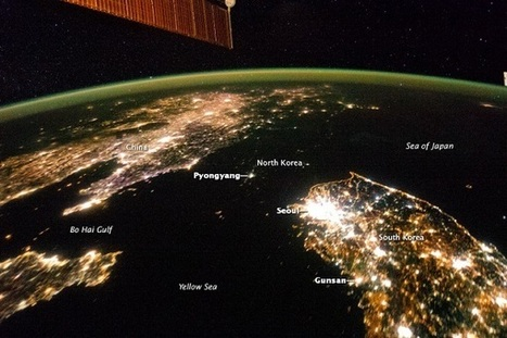 From space, North Korea is a sea of darkness | Plugged In, Scientific American Blog Network | Sustain Our Earth | Scoop.it