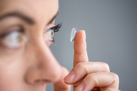 Buy Google Glass today if you want, but don't be surprised when Google contact lenses pop up | AR | Scoop.it
